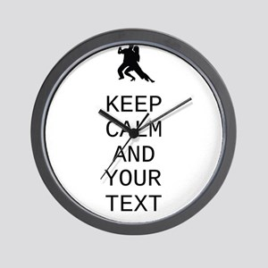 Keep Calm Dance Couple - Customize Wall Clock