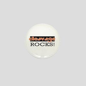 Cleavage Rocks! Mini Button