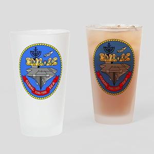 USS Coral Sea CVA-43 Drinking Glass