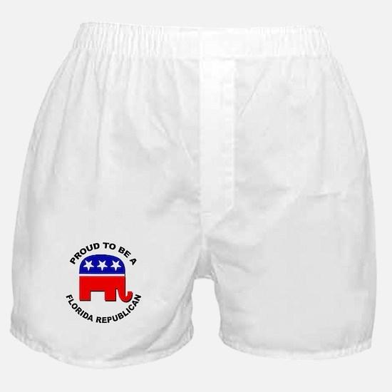Proud Florida Republican Boxer Shorts