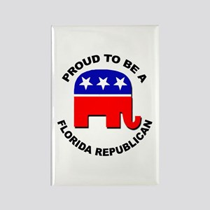 Proud Florida Republican Rectangle Magnet