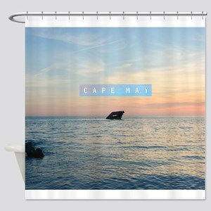 Cape May. Shower Curtain