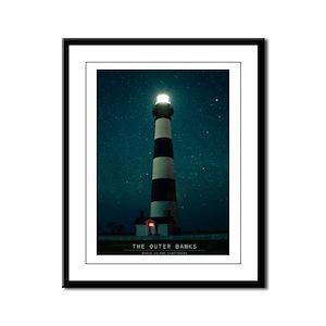 The Outer Banks. Framed Panel Print