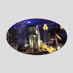 Chicago 001 Wall Decal Sticker