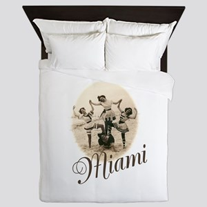 Miami Queen Duvet