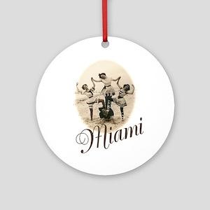 Miami Ornament (Round)