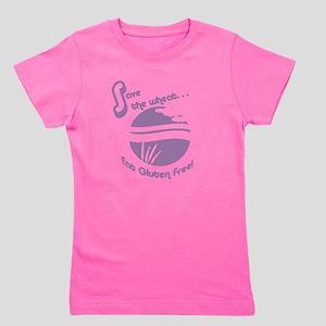 Save the Wheat - mint Girl's Tee