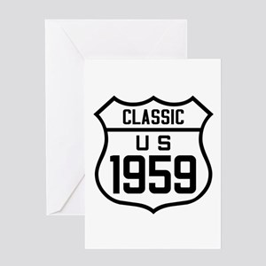Classic US 1959 Greeting Cards