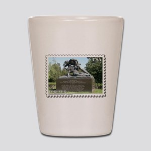 Kirkland Monument - Fredericksburg Shot Glass