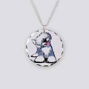 Curious OES Necklace Circle Charm