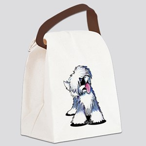 Curious OES Canvas Lunch Bag