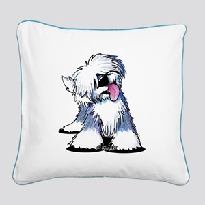 Curious OES Square Canvas Pillow