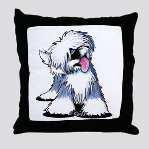 Curious OES Throw Pillow