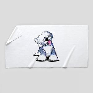 Curious OES Beach Towel