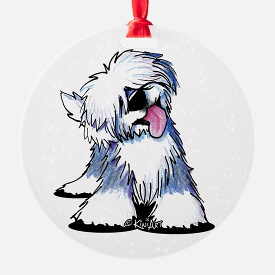 Curious OES Ornament