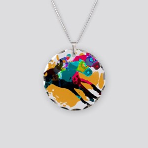 Horse Racing Necklace