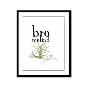 BRO(meliad)MANCE Framed Panel Print