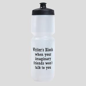 writers-block3 Sports Bottle