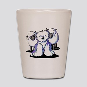 OES Sheepies Shot Glass