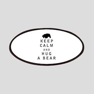 Keep Calm and Hug a Bear Patches