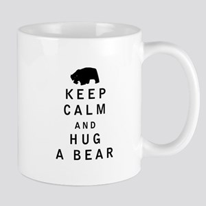 Keep Calm and Hug a Bear Mugs