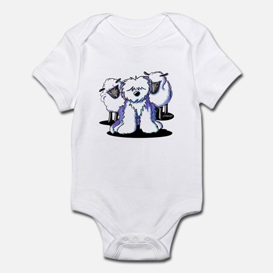 OES Sheepies Infant Bodysuit