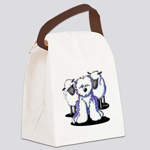 OES Sheepies Canvas Lunch Bag
