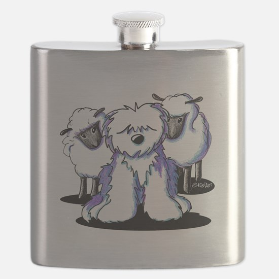 OES Sheepies Flask