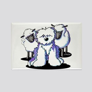 OES Sheepies Rectangle Magnet