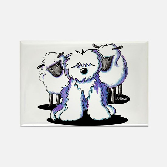 OES Sheepies Rectangle Magnet (100 pack)