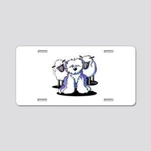 OES Sheepies Aluminum License Plate