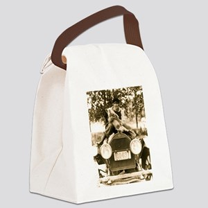 Silent Film Star Pe... Canvas Lunch Bag