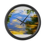 Fair weather Large Wall Clock