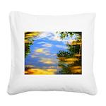 Fair weather Square Canvas Pillow
