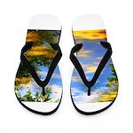 Fair weather Flip Flops