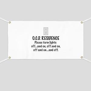 O.C.D. Residence light switch Banner