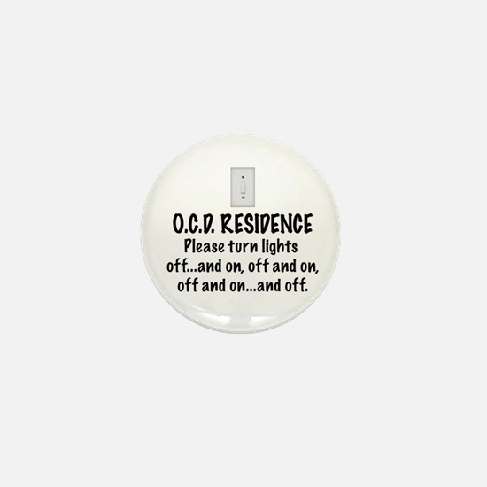 O.C.D. Residence light switch Mini Button