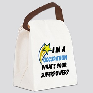 Your Occupation Canvas Lunch Bag
