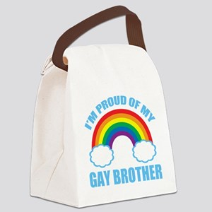 My Gay Brother Canvas Lunch Bag