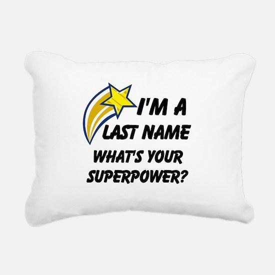 Cute Superhero Rectangular Canvas Pillow