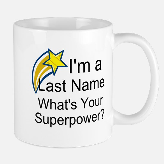 Personalizable Last Name Mugs