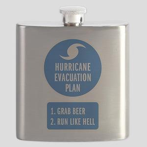 Hurricane Evacuation Plan Flask
