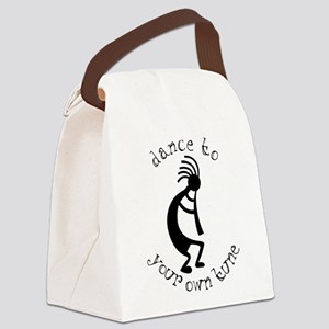 kokopelli t-shirt large Canvas Lunch Bag