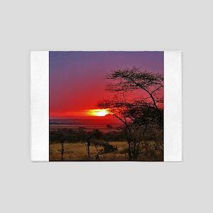 Tanzania 001 5'x7'Area Rug