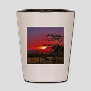 Tanzania 001 Shot Glass