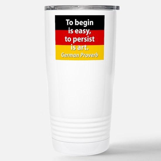 To Begin Is Easy Mugs