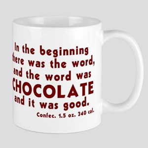 Chocolate Word Mug