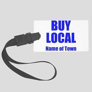 Buy Local Luggage Tag