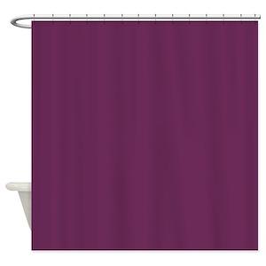 Plum Color Shower Curtains