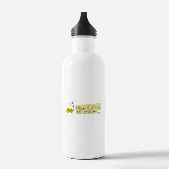 Try Gratitude Instead Water Bottle